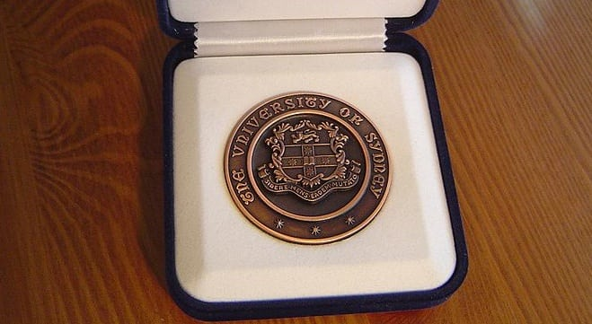 The current University Medal